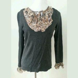 Ann Taylor LOFT sweater sz petite S or XS